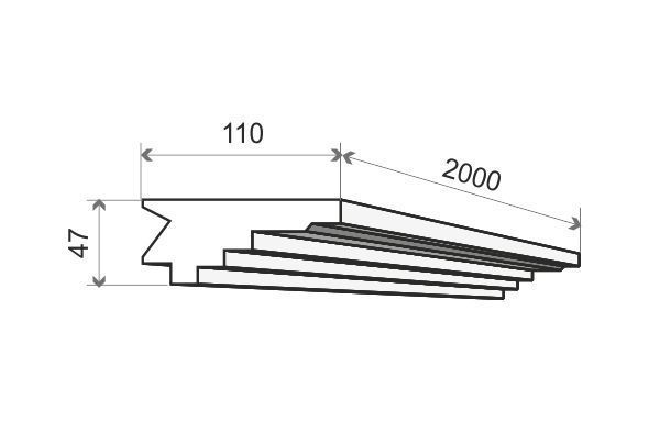 Indirekte Wandbeleuchtung LO16