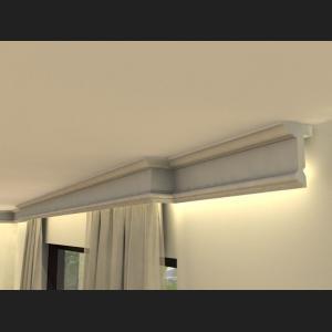 Vorhangleiste mit LED LKO11