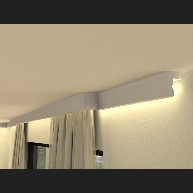 Vorhangschiene mit Blende LKO3
