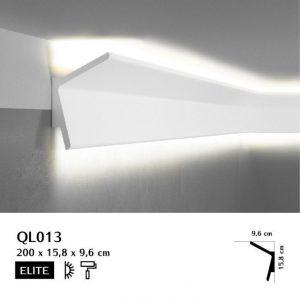 Wandleiste Weiß mit LED QL013