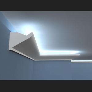 Wandverzierung mit Deckenbeleuchtung LO6